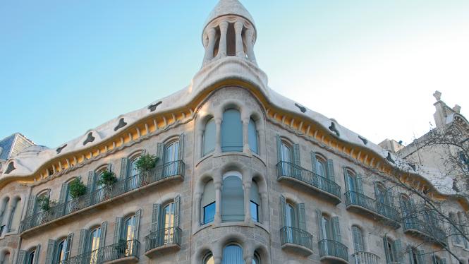 modernist building